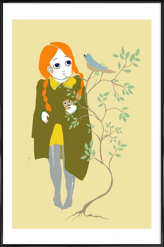 Bird I Framed Poster