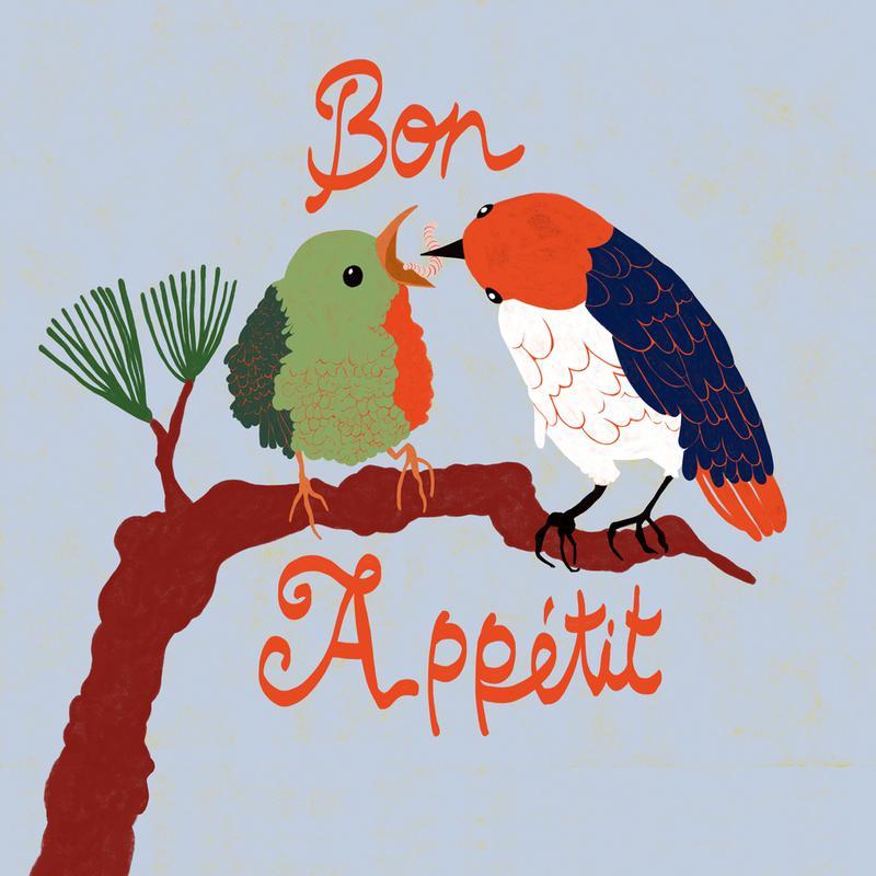 Bon Appétit -Alubild
