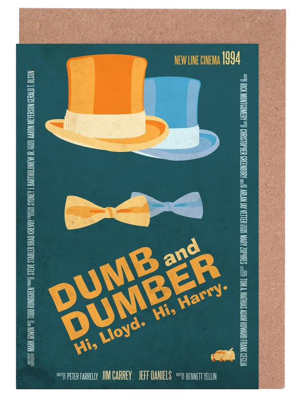 Dumb And Dumber Greeting Card Set