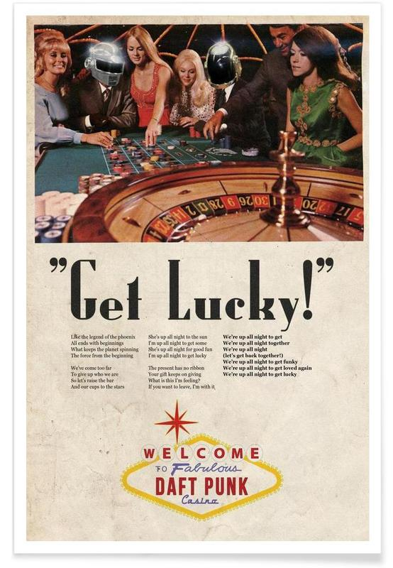 Get Lucky ! Poster