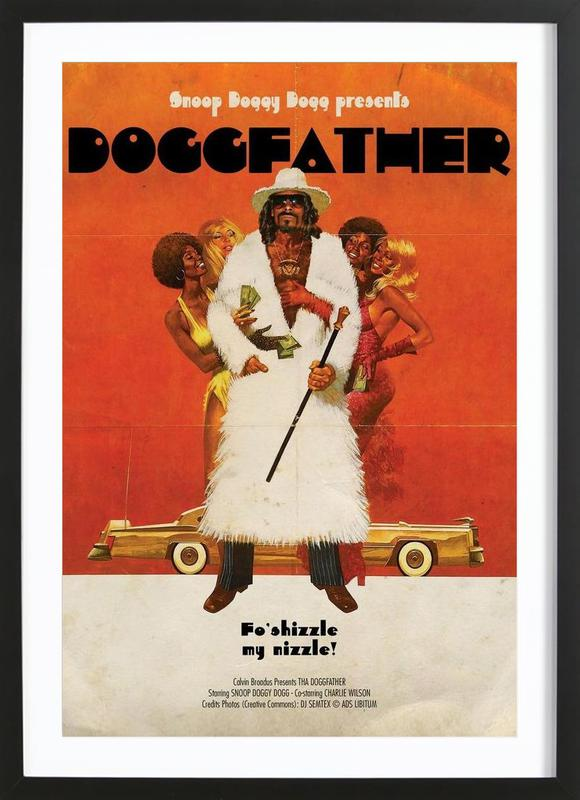 Dogg Father Framed Print