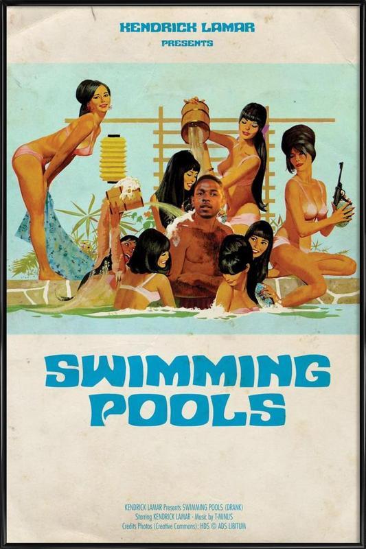 Kendrick Framed Poster