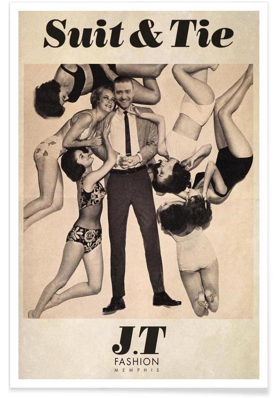 Suit & Tie -Poster