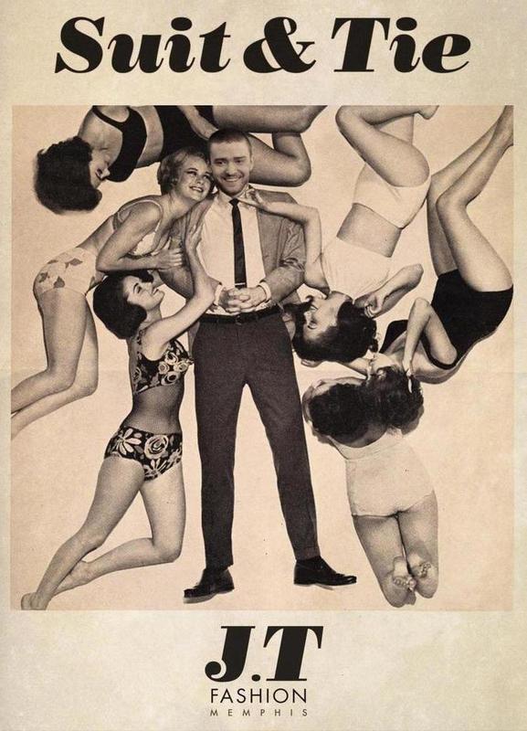 Suit & Tie Canvas Print
