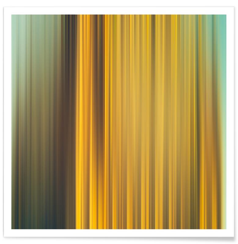 Golden Cliff Poster