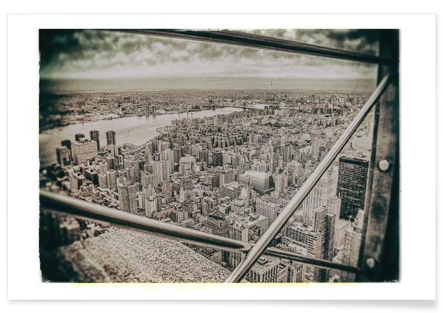 New York From the Empire State building Poster