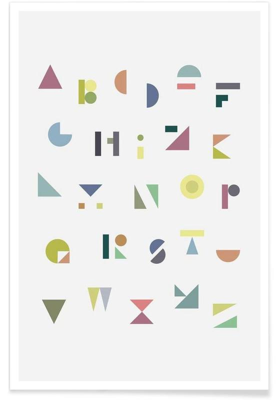 ABC colorful -Poster