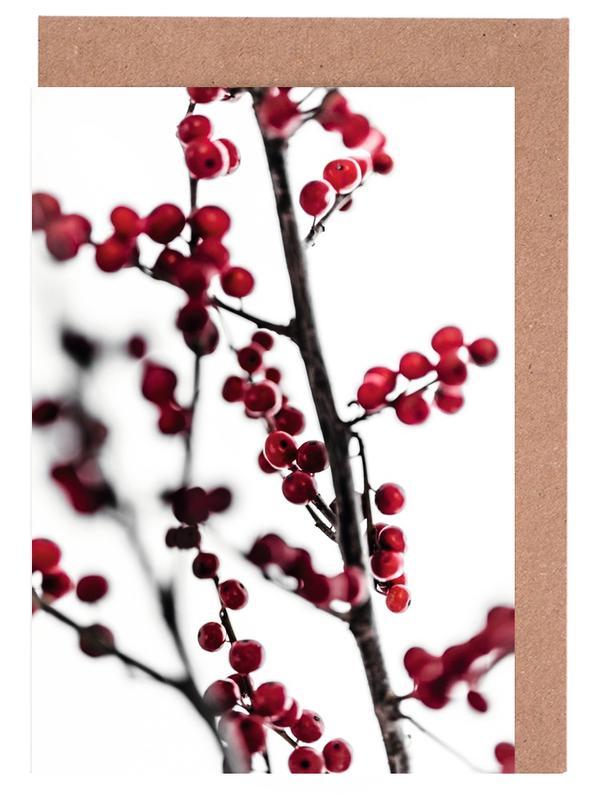 Red Berries 1 -Grußkarten-Set