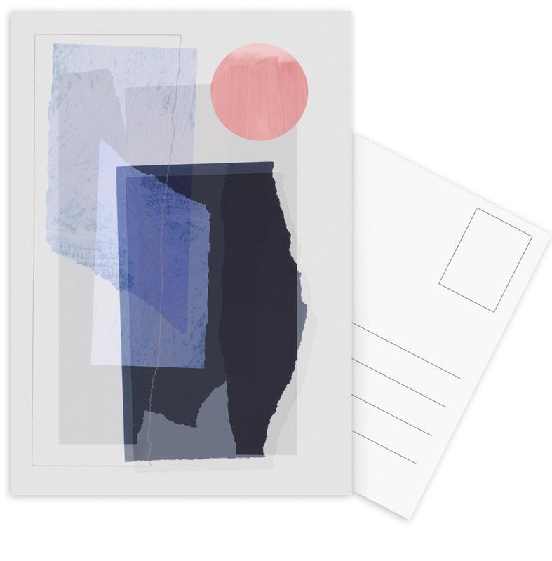 Pieces 10A -Postkartenset