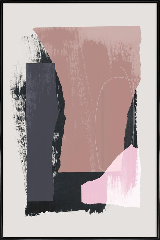 Pieces 14 -Bild mit Kunststoffrahmen