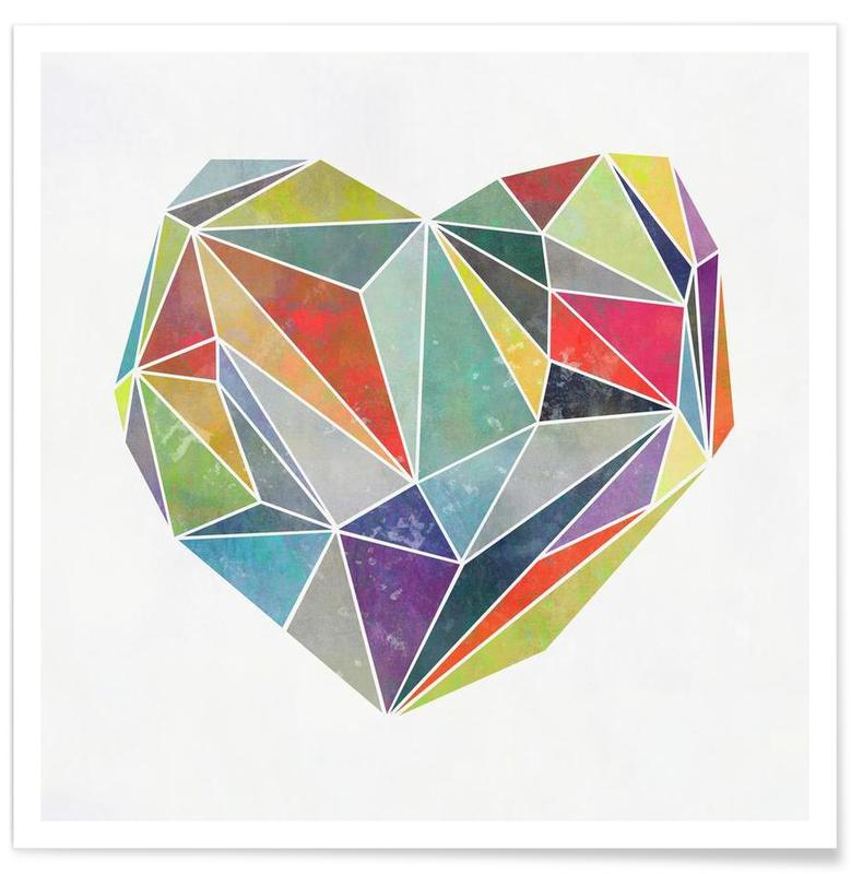 Heart Graphic 5 affiche