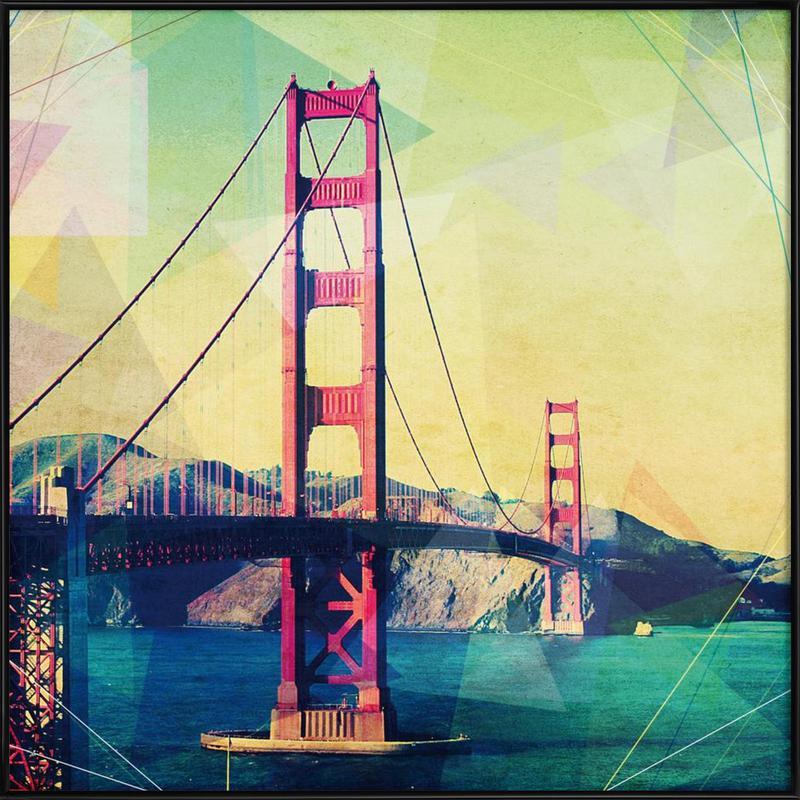 The Bridge affiche encadrée