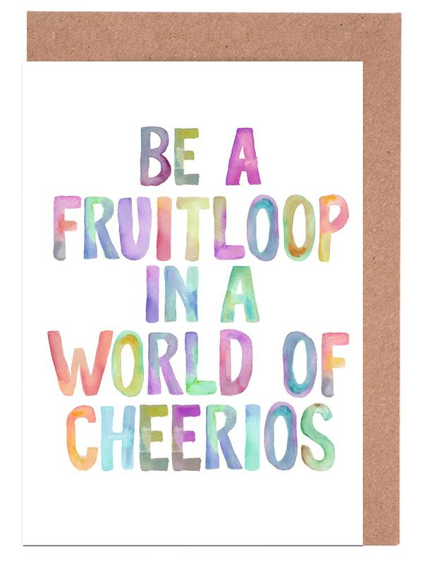 Be A Fruitloop cartes de vœux