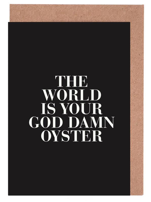 The World cartes de vœux