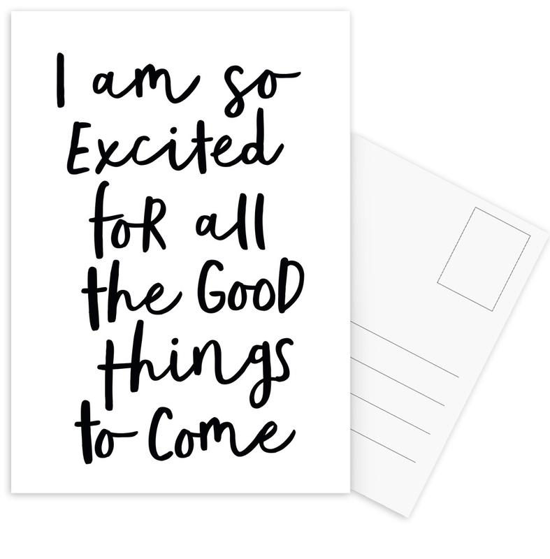 All the Good Things Postcard Set