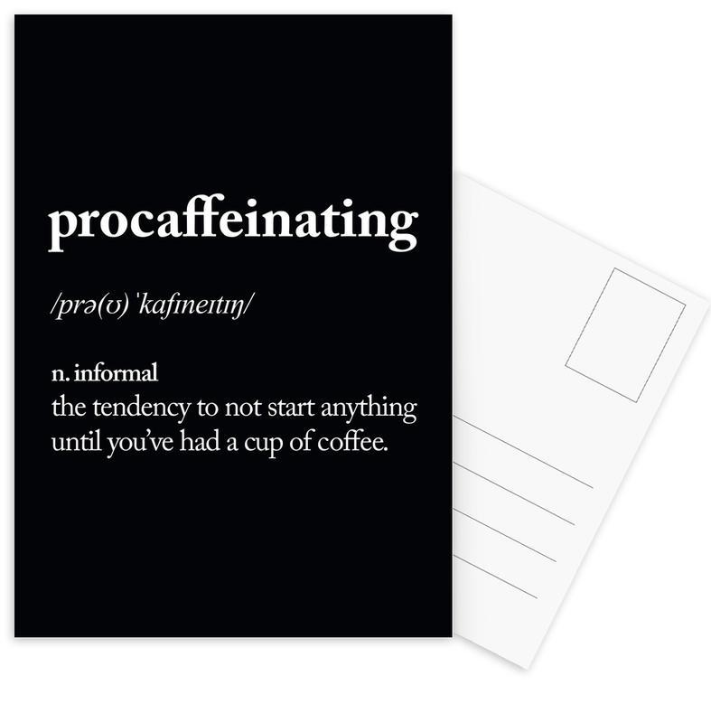 Procaffeinating cartes postales