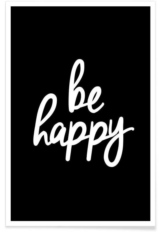 Be Happy -Poster
