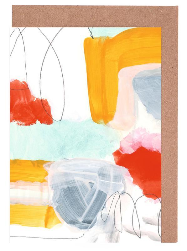 Abstract Painting XVI -Grußkarten-Set