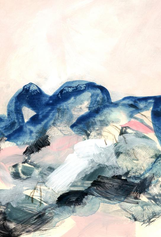 Abstract Painting II -Alubild