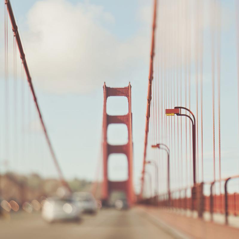 A Memory San Francisco Acrylic Print