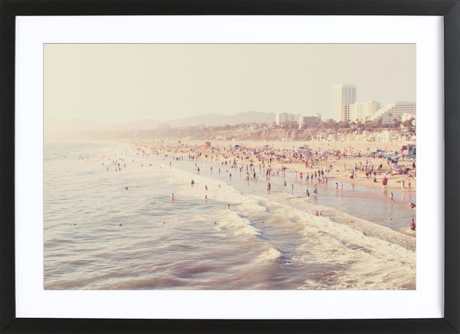 Sunny California Framed Print