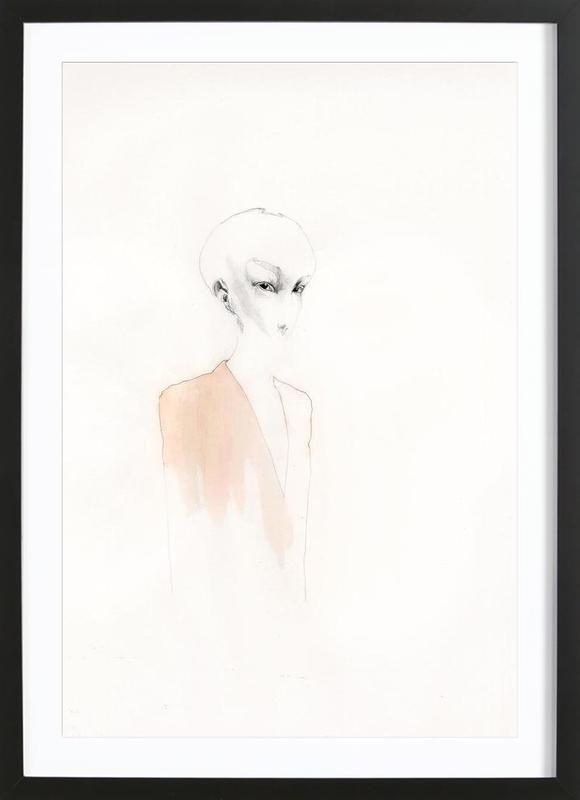 [skʊˈʀiːl] I Framed Print