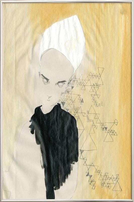 [skʊˈʀiːl] II -Poster im Alurahmen