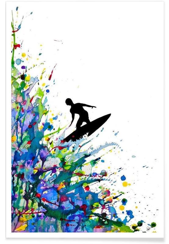 A Pollock's Point Break affiche