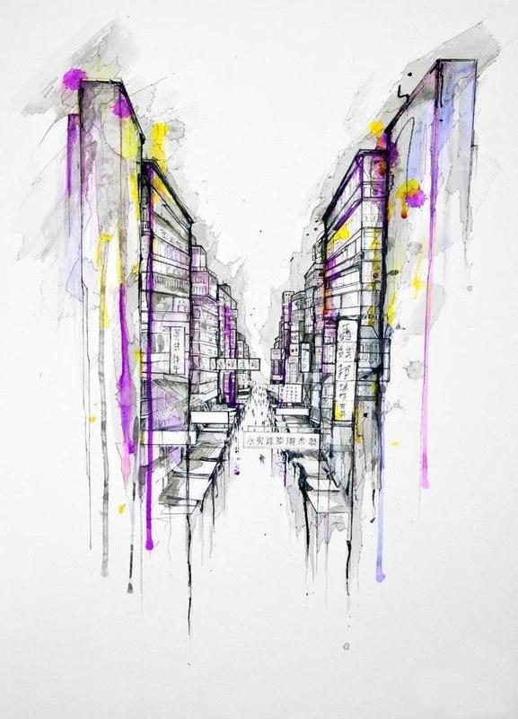 This City Sleeps Canvas Print