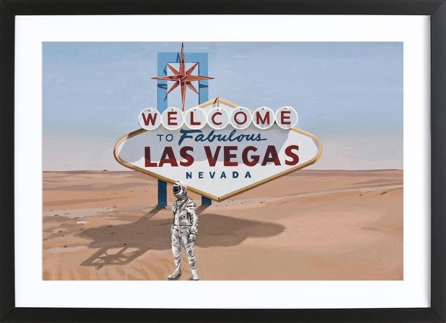 Leaving Las Vegas Framed Print