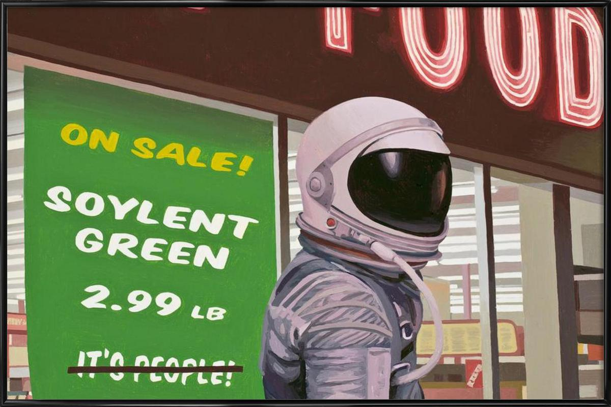 Soylent Green ingelijste poster