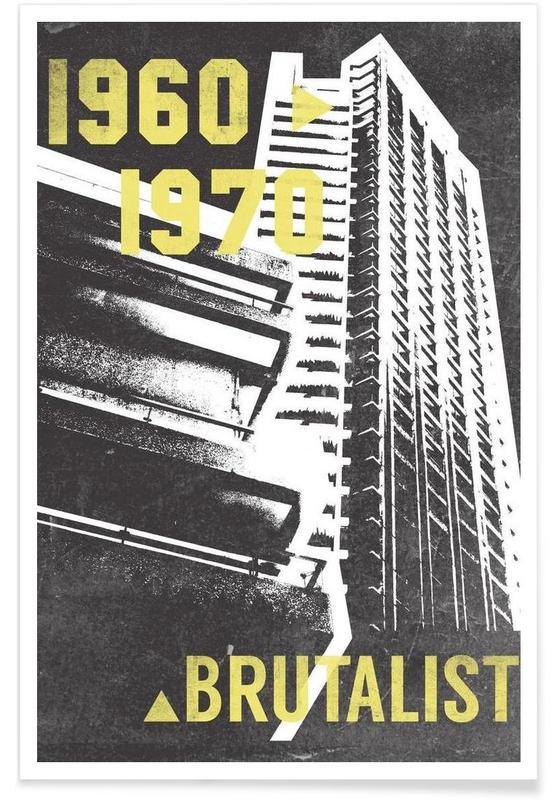 Brutalist Poster