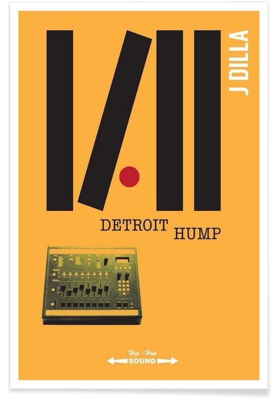 Detroit Hump -Poster