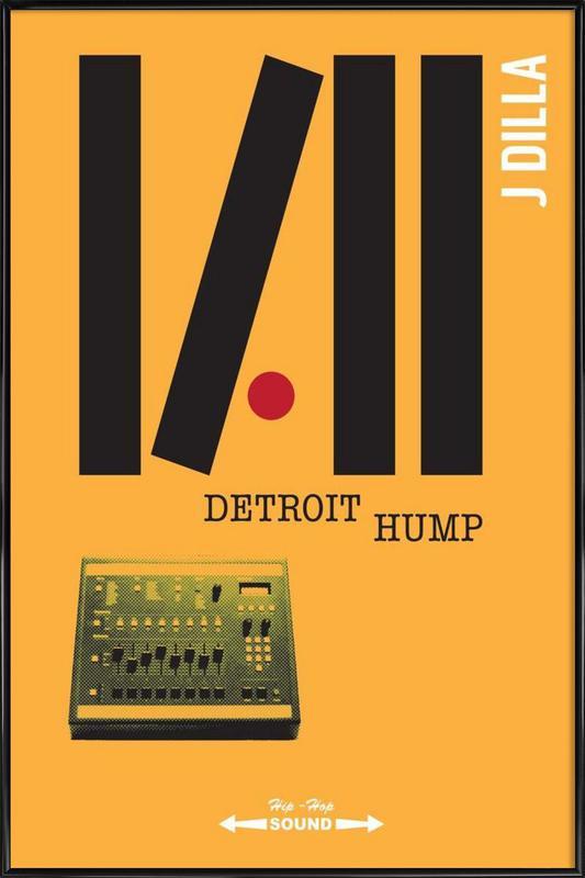 Detroit Hump Framed Poster