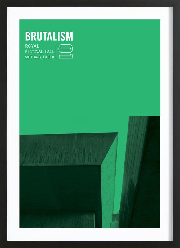 Brutalism Framed Print