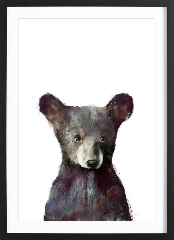 Little Bear -Bild mit Holzrahmen