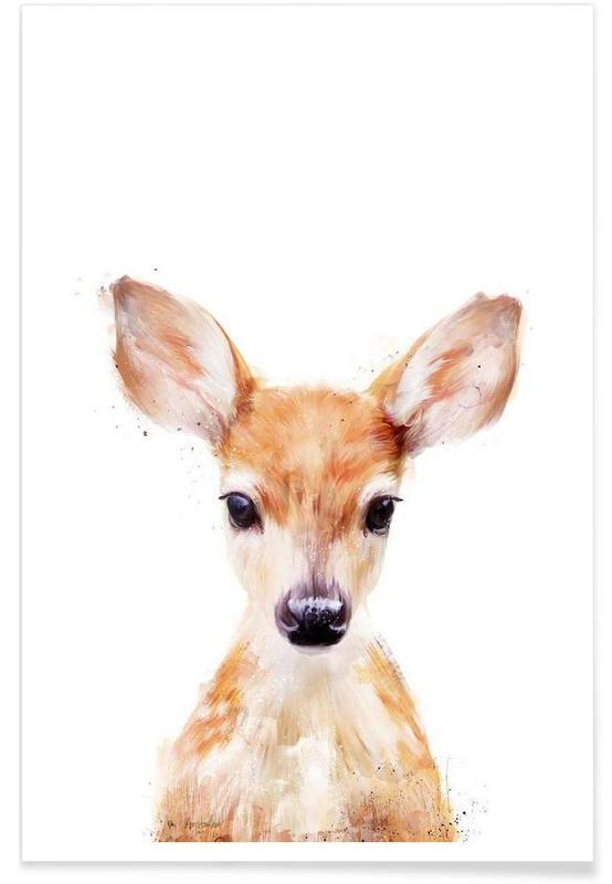 Little Deer Illustration Plakat