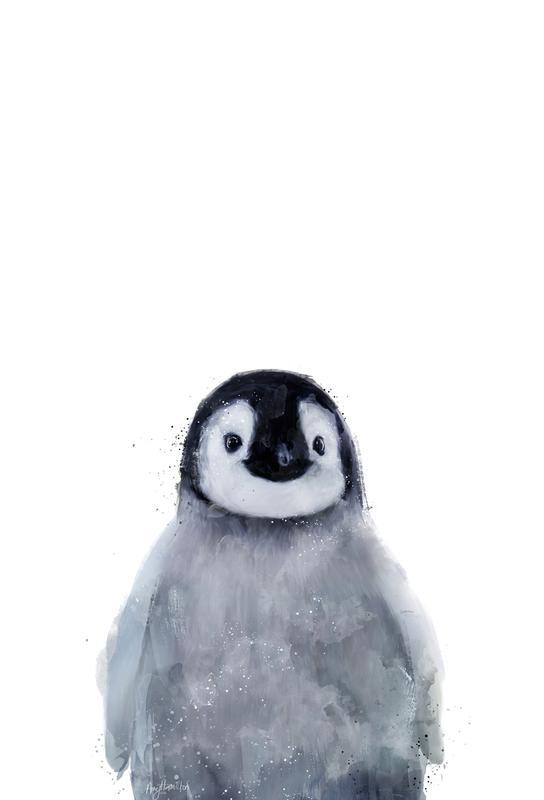 Little Penguin -Acrylglasbild