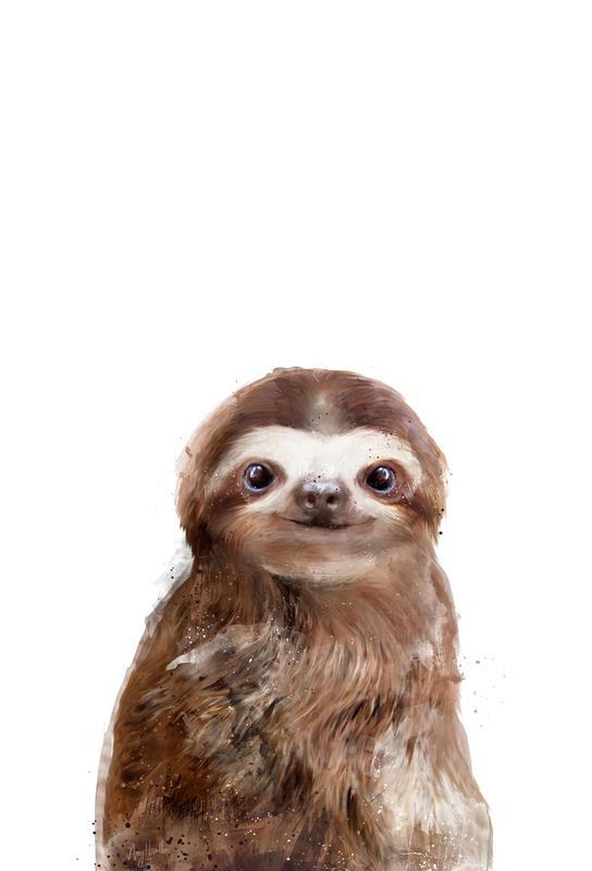Little Sloth Acrylic Print