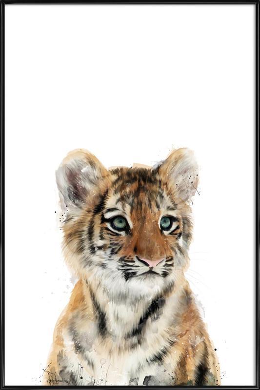 Little Tiger affiche encadrée