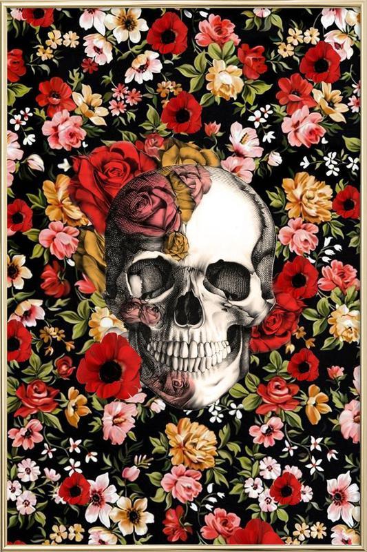 In Bloom -Poster im Alurahmen