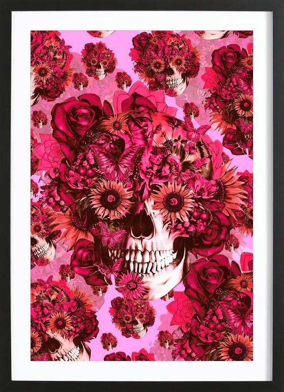 Girly by Nature Framed Print