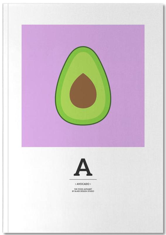 """""""The Food Alphabet"""" - A like Avocado Notebook"""