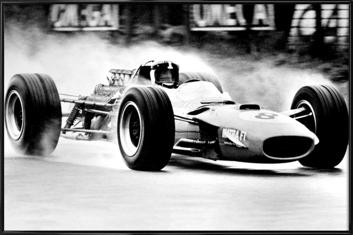Formula 1 Framed Poster