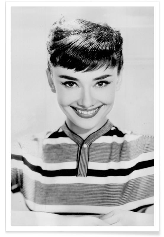 Audrey Hepburn 2 -Poster