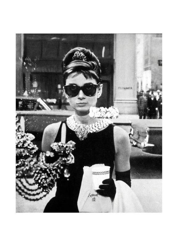 Audrey Hepburn in Breakfast at Tiffany's, 1961 toile