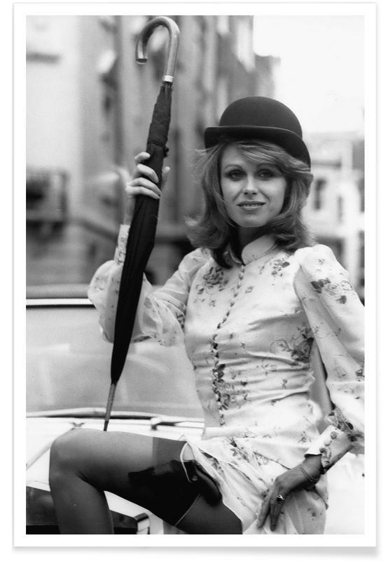 Joanna Lumley Photograph Poster