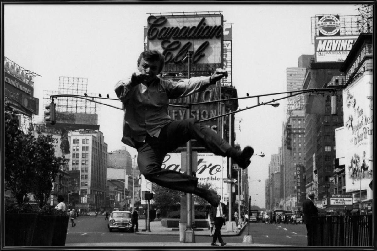 Tommy Steele at Times Square affiche encadrée