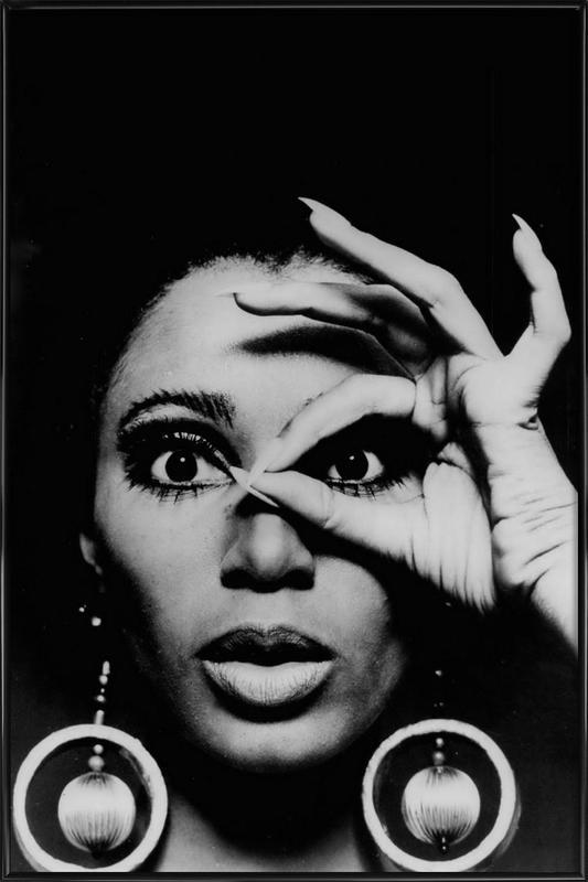 Donyale Luna, 1970 affiche encadrée
