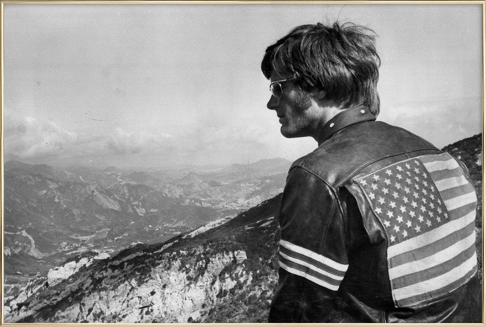 Easy Rider, Peter Fonda affiche sous cadre en aluminium